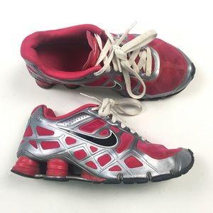 Nike Shox Silver Pink 454371-600 6Y B82 ...